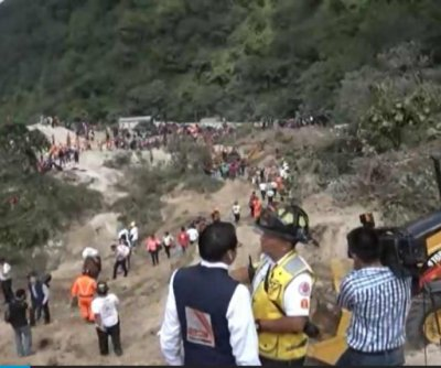 Death toll in Guatemala landslide rises beyond 90, hundreds still missing