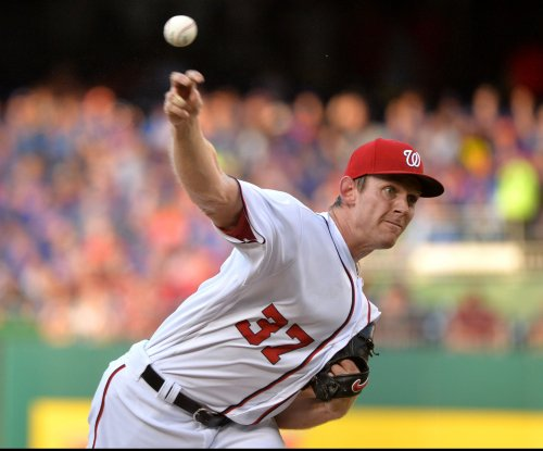 Washington Nationals' Stephen Strasburg not available for NLCS