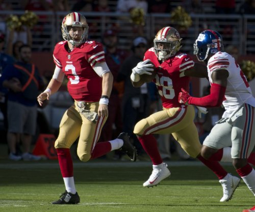 San Francisco 49ers finally get first win by beating New York Giants
