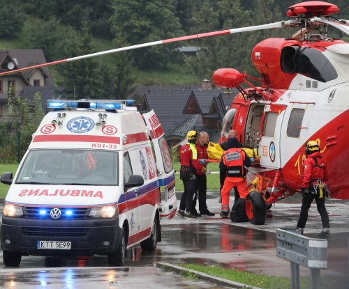 Four dead after lighting strikes summit of Polish mountain