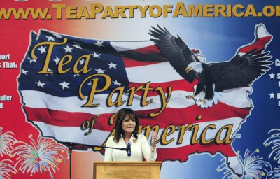 Sarah Palin: If I were in charge, waterboarding is how we'd baptize terrorists