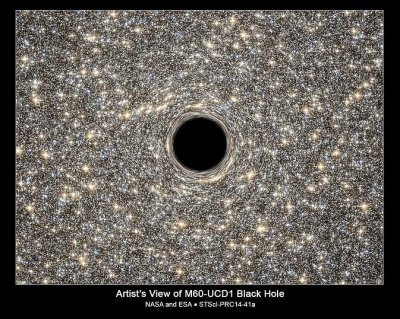 NASA says they found smallest known galaxy with a black hole