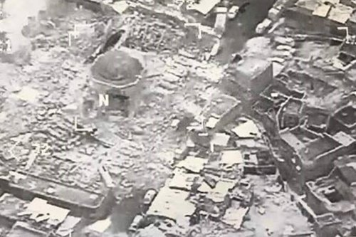 Iraq captures Mosul's decimated Great Mosque of al-Nuri