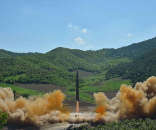 North Korea test-fires improved ballistic missile