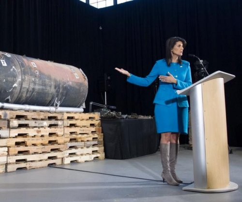 Nikki Haley offers 'undeniable' proof Iran is arming Houthi rebels