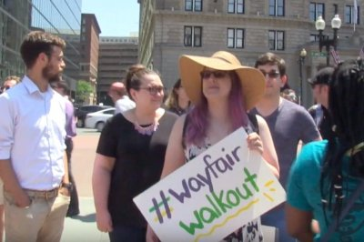 Wayfair employees hold walkout to protest sales to migrant detention centers