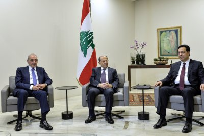 Lebanon forms new 20-minister government amid mass economic protests