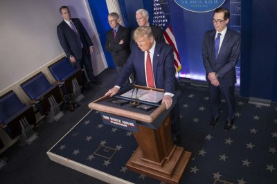 Trump tells governors he's working on guidelines for lifting restrictions