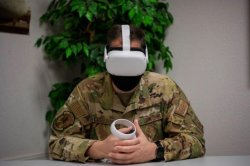 Air Force tests suicide prevention training with virtual reality system