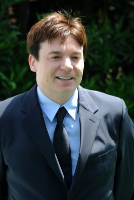 Mike Myers becomes a dad for the first time