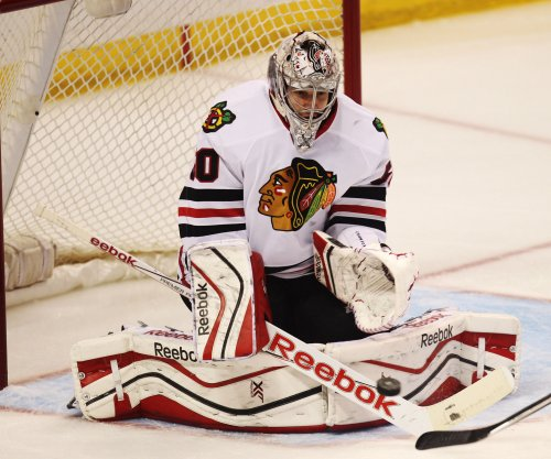 Darling leads Chicago Blackhawks over Washington Predators for 2-1 series lead