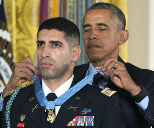 Army Capt. Florent Groberg receives Medal of Honor for heroism