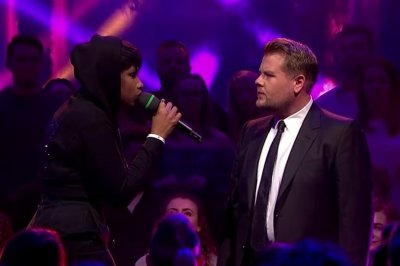 Jennifer Hudson, James Corden have Drop the Mic battle on 'Late Late Show'