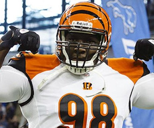 Cincinnati Bengals cut DT Thompson, WR Hamilton and RB Williams