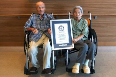 Look:-Couple-with-combined-age-of-208-awarded-Guinness-record