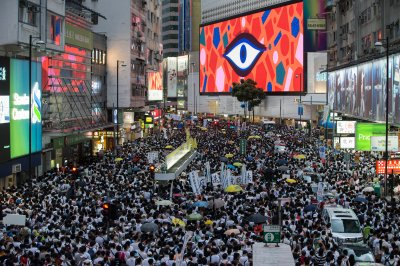 Organizers: Million in Hong Kong protest mainland extradition plan