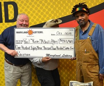 Repeat winner scores third major jackpot from Maryland Lottery