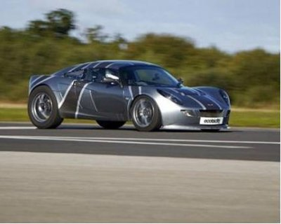 Electric car sets U.K. speed record