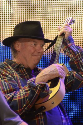 Neil Young records Willy Nelson's 'Crazy' on 'Tonight Show'