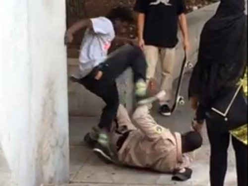 Philadelphia park ranger attack caught on tape
