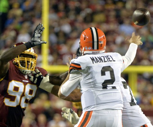 Cleveland Browns QB Johnny Manziel limited Tuesday