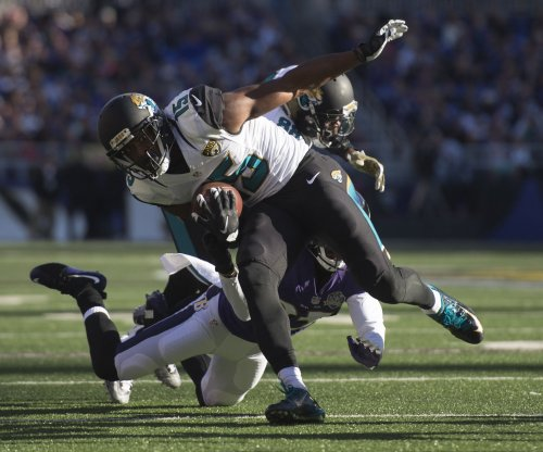 Jacksonville Jaguars' Allen Robinson in, Detroit Lions' Calvin Johnson out of Pro Bowl