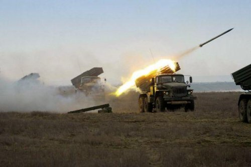 8,500 Russian troops perform military drills near Ukrainian border