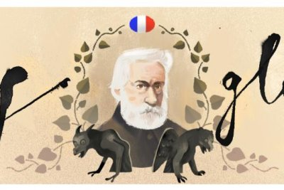 Google honors author Victor Hugo with new Doodle
