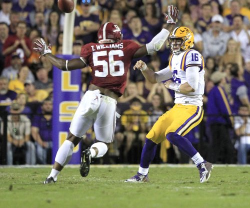No. 24 LSU Tigers will start QB Danny Etling vs. Arkansas Razorbacks