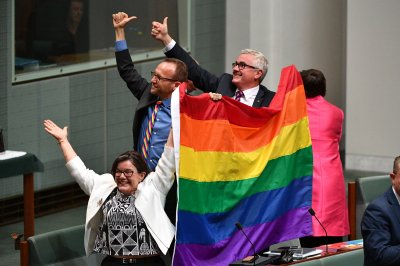 Australia becomes 26th country to legalize same-sex marriage