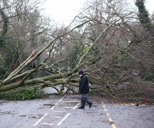 Storm Eleanor: Power fully restored as skiers shake in Europe