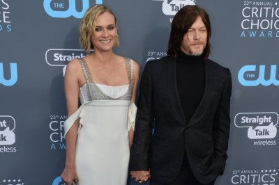 Diane Kruger, Norman Reedus show PDA at Critics' Choice Awards