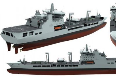 Britain customizing tankers to support Royal Navy ops
