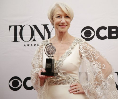 Tony Award winner Helen Mirren says she's working toward an EGOT