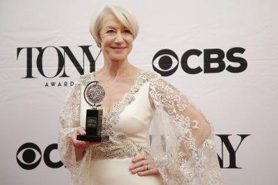 Tony Award winner Helen Mirren says she's working toward an EGOT