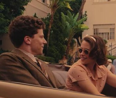 Jesse Eisenberg, Kristen Stewart reunite in Woody Allen's 'Cafe Society' trailer