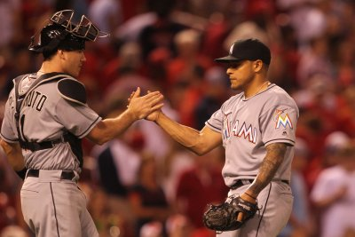 A.J. Ramos, Miami Marlins salvage series finale vs. Chicago Cubs