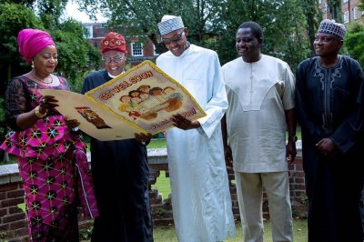 Nigerian president feels ready to return from treatment in Britain
