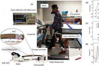New device harvests energy from movement of human knee