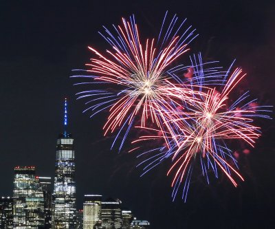 How is the weather shaping up for Independence Day fireworks displays?