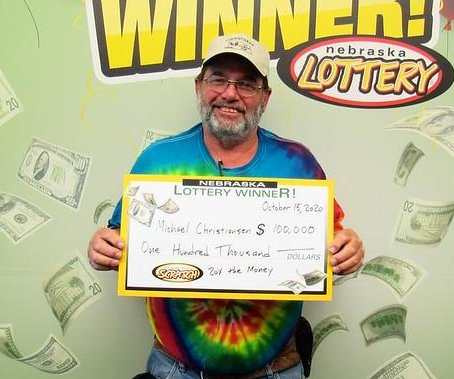 Nebraska man wins two scratch-off lottery top prizes in one year