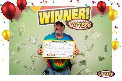 Nebraska man wins two scratch-off lottery top prizes in one year