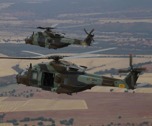 Spanish army takes delivery of Airbus NH90 helicopters