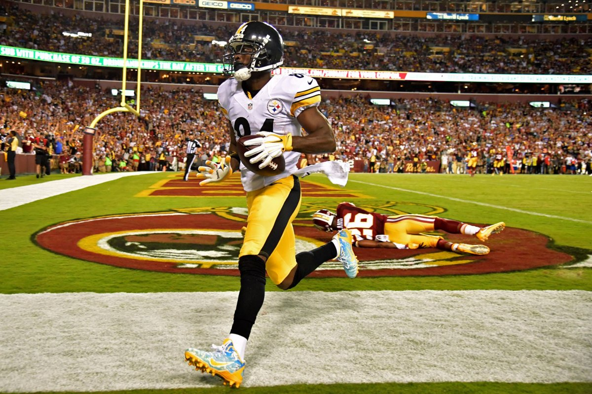 Pittsburgh Steelers Antonio Brown fined for celebration blue