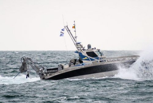Elbit Systems demos unmanned counter-mine vessel