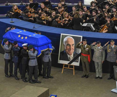 World leaders memorialize Helmut Kohl