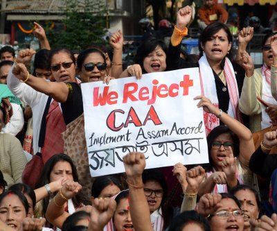 Indian women protest citizenship laws, joining global feminist movement