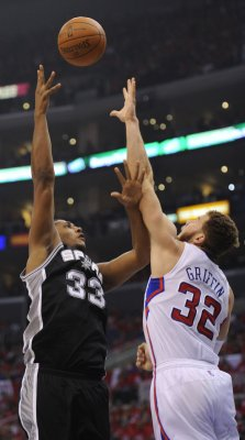 NBA: San Antonio 102, LA Clippers 99