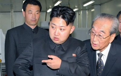 North Korean officials visit London hair salon about Kim Jong Un 'bad hair day' ad