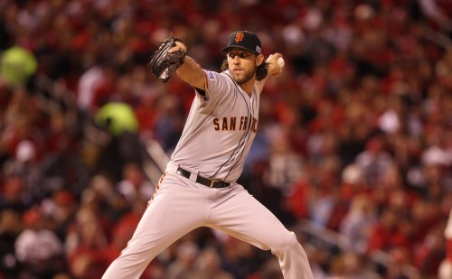 Bumgarner, Giants win NLCS opener